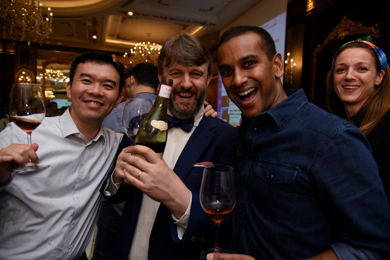 2018 THE FINE WINE EXPERIENCE BURGHOUND SYMPOSIUM SHANGHAI GALA DINNER  with Erica and Allen Meadows (DAY 2)