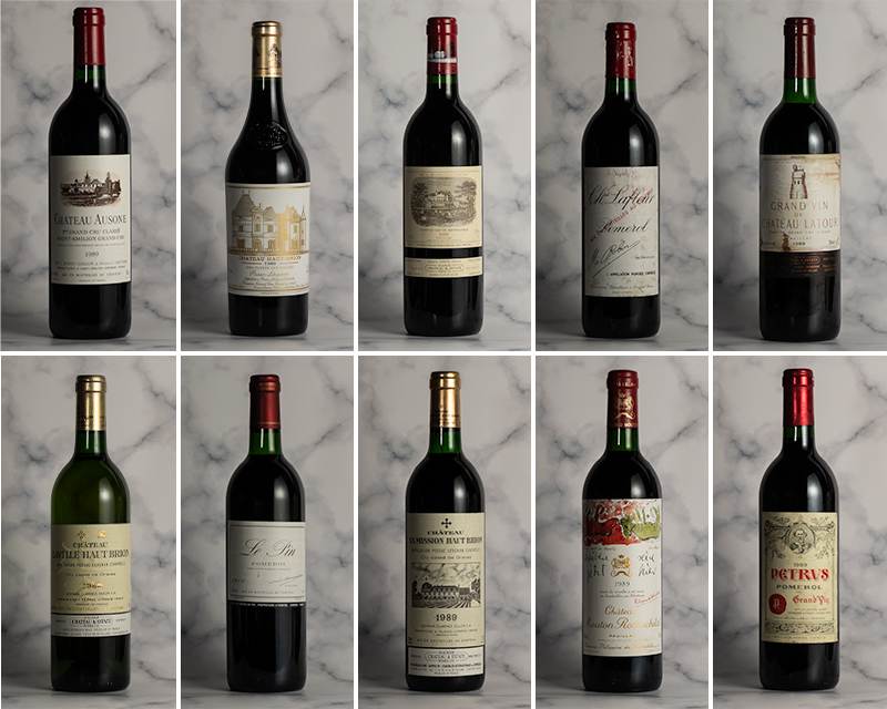 The Best of 1989 Bordeaux: 30 Years On Dinner