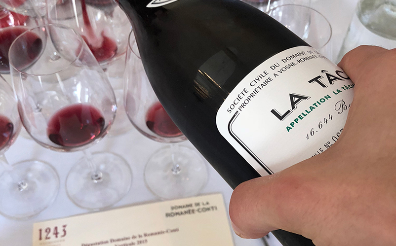 Domaine de la Romanée Conti 2015 Tasting with Aubert de Villaine
