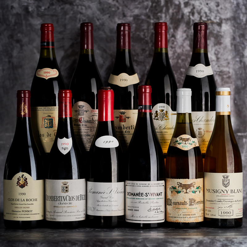 Rare Wine Dinner: 1990 Burgundy, Thirty-Years On