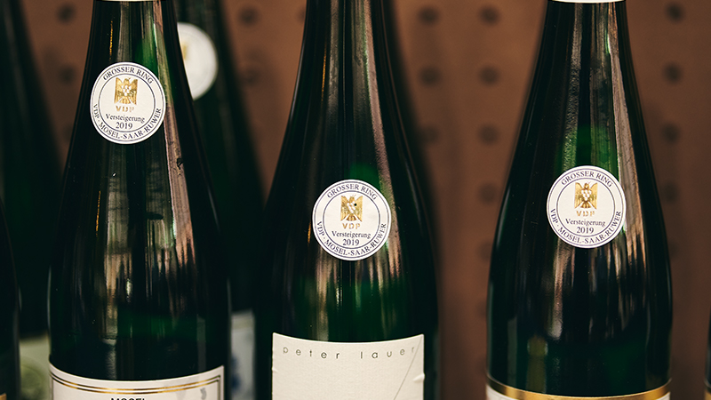 What's So Special About Auktion Riesling?