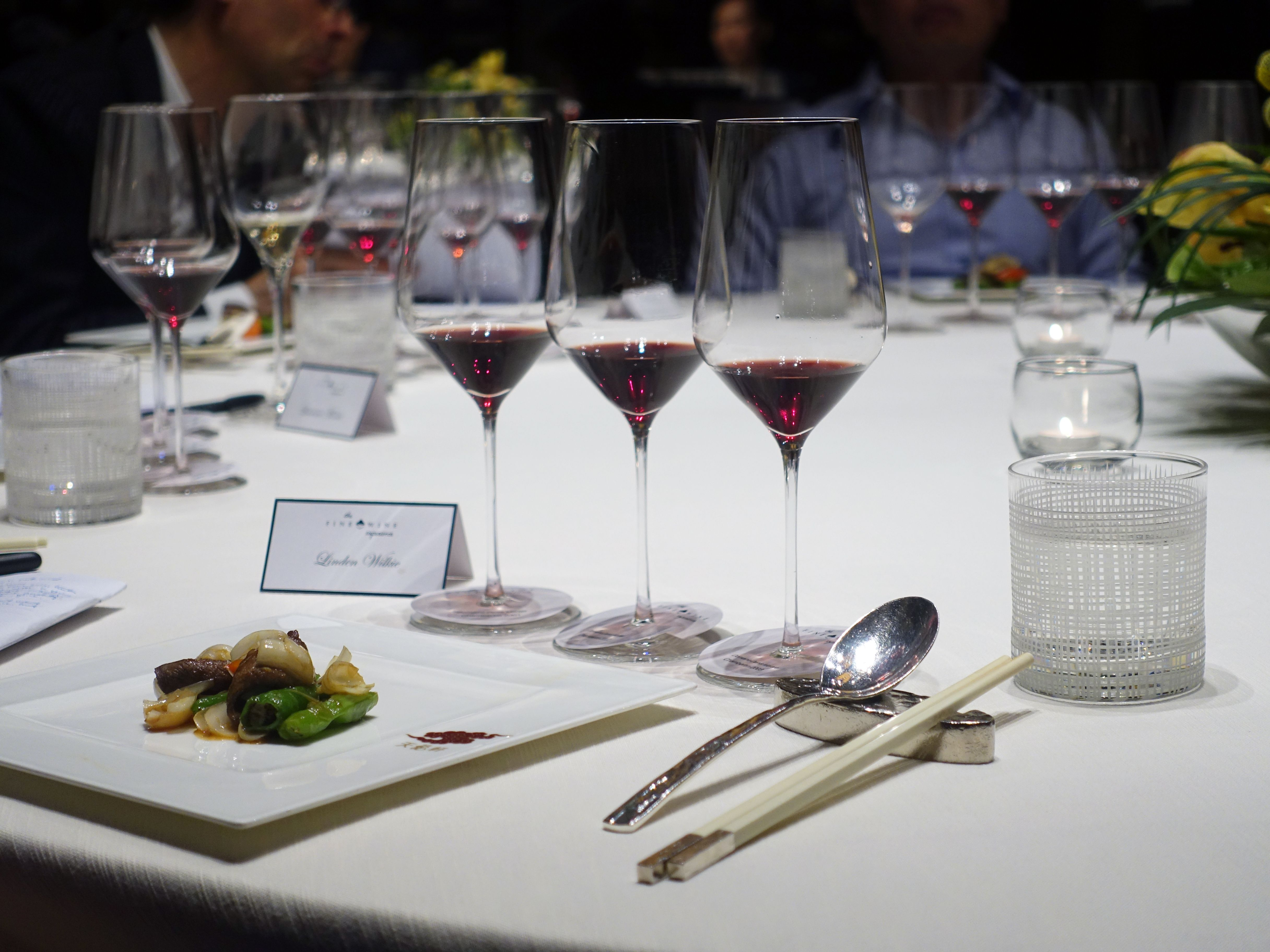 IN REVIEW: The Fine Wine Experience Burghound Symposium: Domaine Denis Mortet Chambertin Dinner