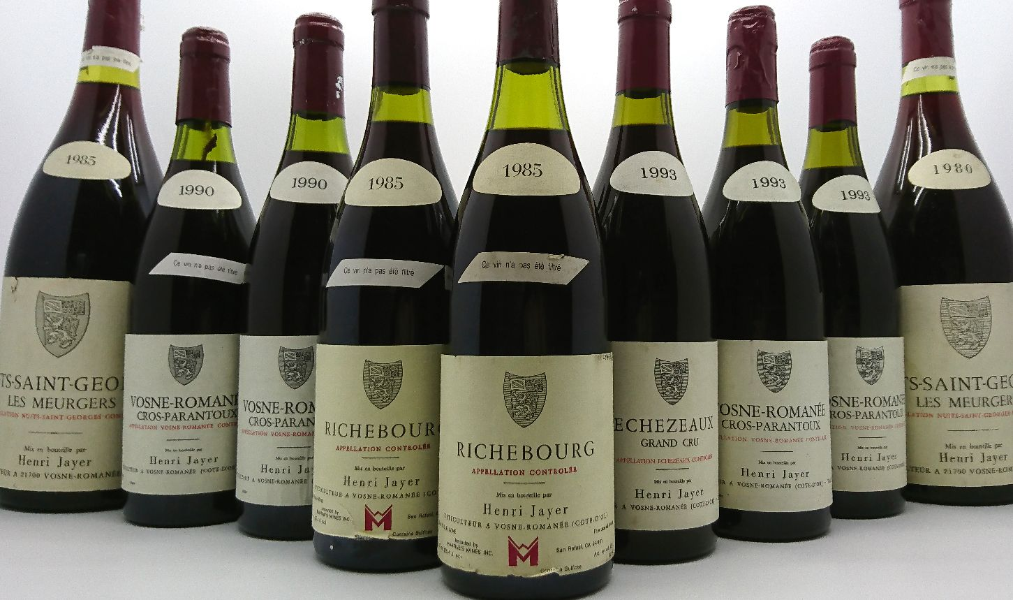 Domaine Denis Mortet Chambertin Dinner