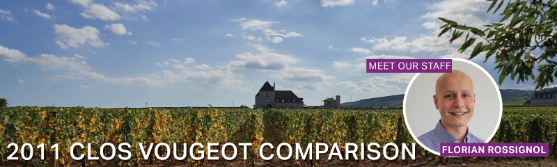 Fine Wine Friday: 2011 Clos Vougeot Comparison