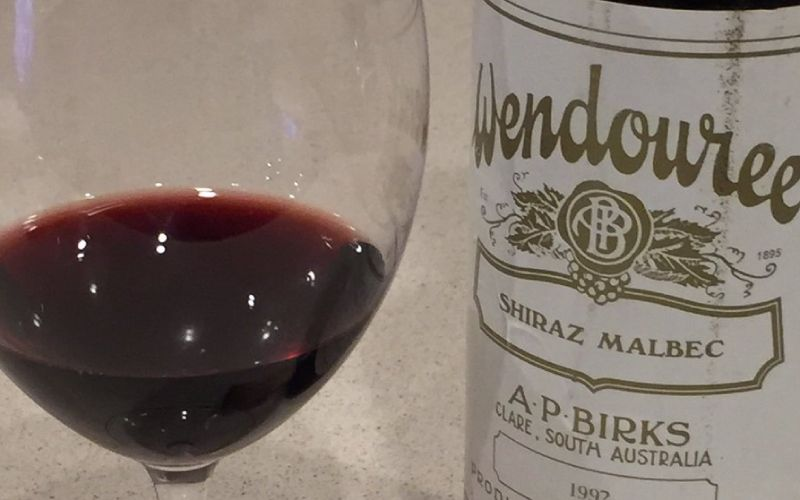 Rare and Important Vertical of an Australian Icon - Wendouree Shiraz (Pre-dinner tasting & wine dinner)