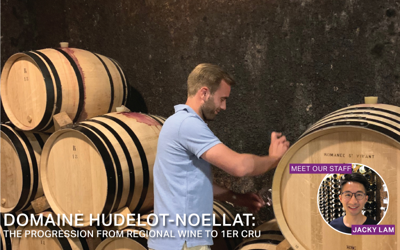 Fine Wine Friday: Domaine Hudelot-Noëllat: The Progression from Regional Wine to 1er Cru
