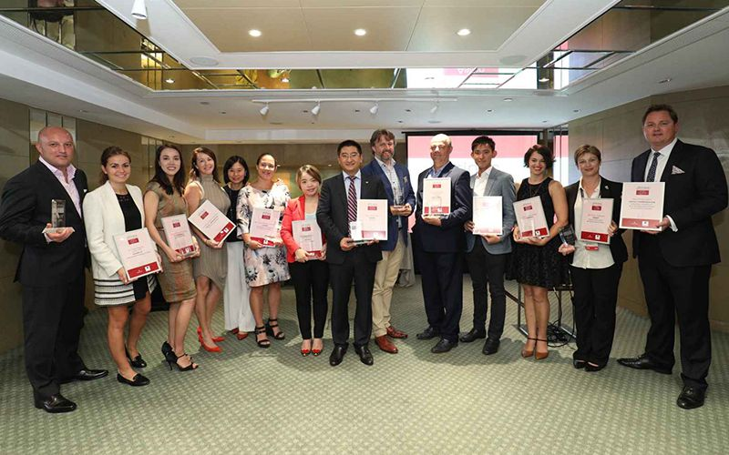 The Fine Wine Experience Wins The Drinks Business Asia Award for Best Drinks Event 2017