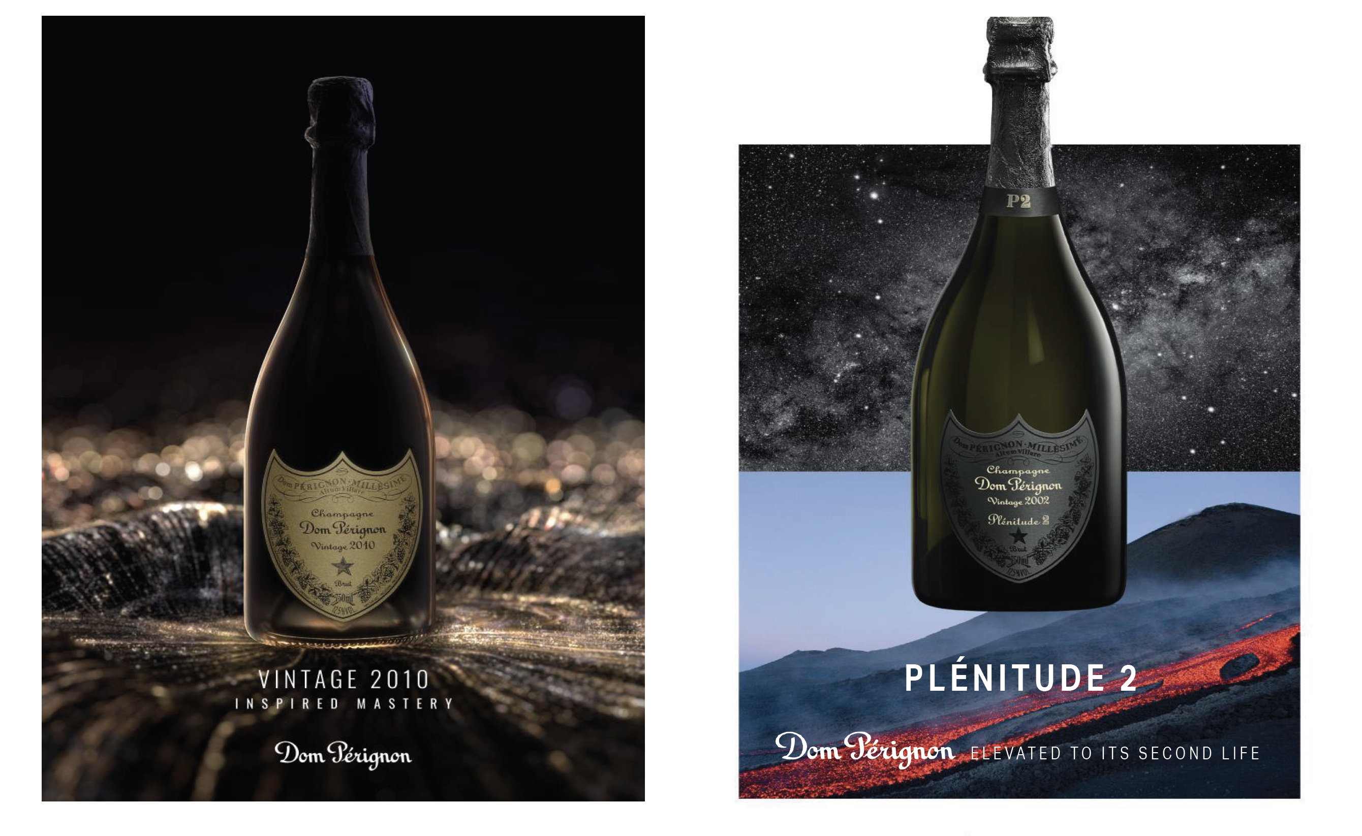 Enjoy 2010 Dom Pérignon and Other Recent Releases of this Extraordinary Champagne Over Dinner