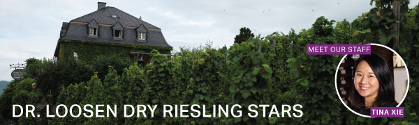 Fine Wine Fridays: Dr. Loosen Dry Riesling Stars with Tina Xie