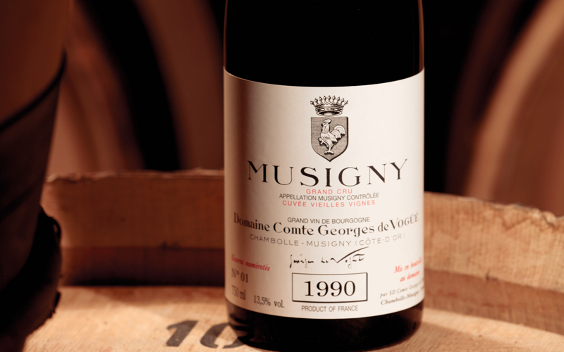 2019 BURGHOUND SYMPOSIUM HONG KONG: Domaine Comte Georges de Vogüé MUSIGNY Grand Cru VERTICAL DINNER with special guests: Jean-Luc Pépin and Allen Meadows