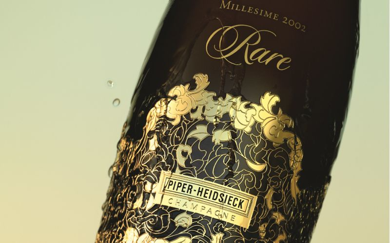 Join us for the Piper-Heidsieck 'Rare' Champagne dinner on Monday, 11th December 2017